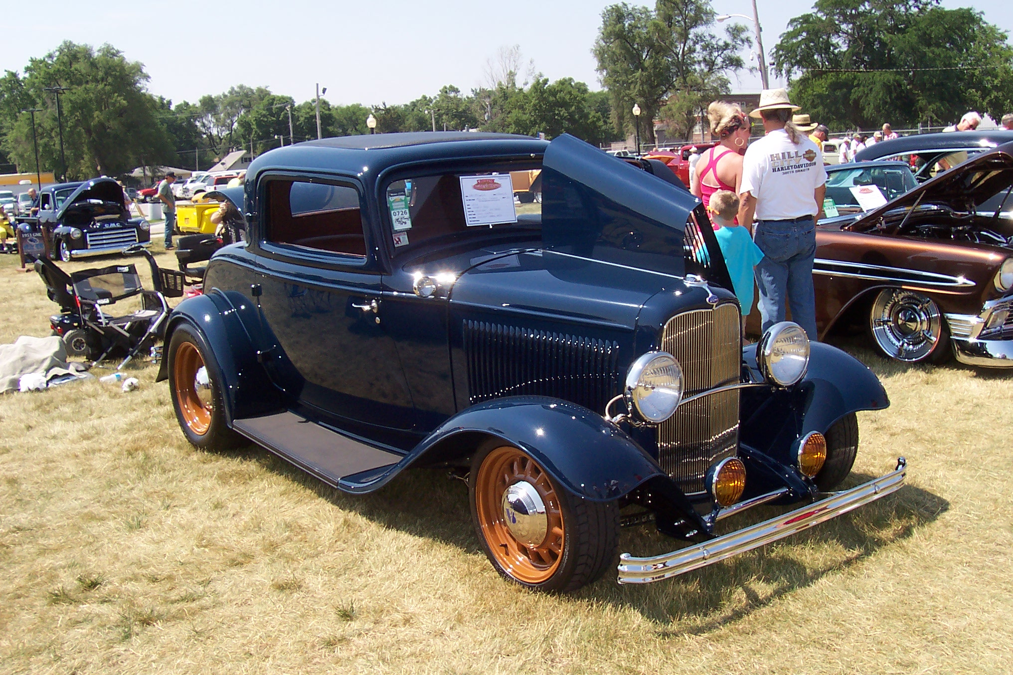 Custom Billet Hot Rod Parts - Customer Cars - Gary\'s 32 Three Window