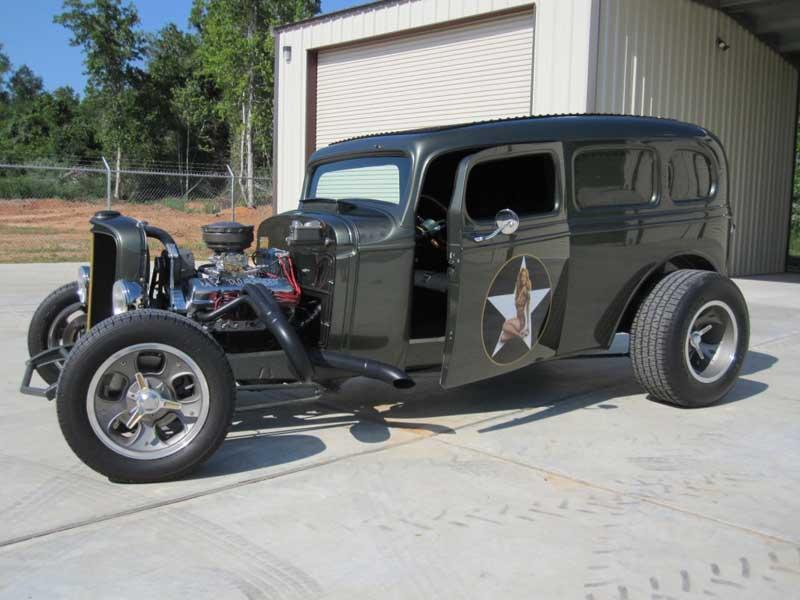 Custom Billet Hot Rod Parts - Customer Cars - Retro Power\'s Old ...